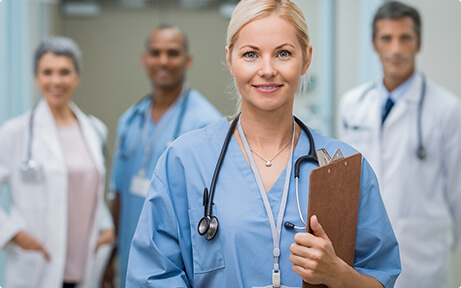 Diverse Healthcare Professionals